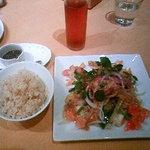 J's KITCHEN - 豆腐と夏野菜を炒めたの。