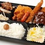 杏亭 - 料理写真:ぜんぶのせSP弁当 780円