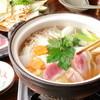Kantarou - 料理写真:女性に大人気の「合鴨鍋」。名古屋デートでのお食事にお勧め。
