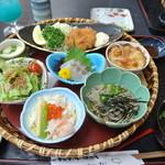 和食処 まさご - 春の花篭御膳¥1600 ※5月19日まで20日からは違うメニューの花篭