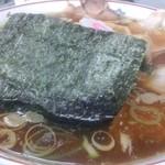 青島食堂 - 青島チャーシュー大盛@¥850 メンマ¥50