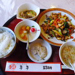 玲鈴 - (レシート上の表現では)医食同源997円セット
