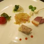 雅 - 料理写真:前菜盛り合わせ