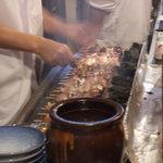 菊すい - 焼き台