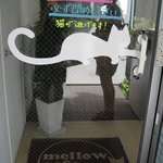 mellow cafe - 入り口@mellow cafe