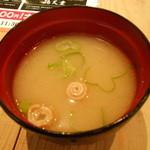 九州黒太鼓 - 味噌汁