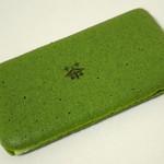 19250861 - お濃茶ラングドシャ『茶の菓』(2013年5月)