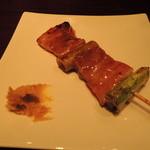 けいちゃん - 豚バラ 酢がらし添え
