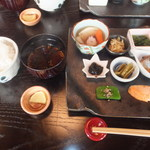 おばんざい おせんべい かまだ - ランチ梅御膳 1500円 【 2013年5月 】