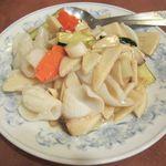19255583 - イカの季節野菜の炒め