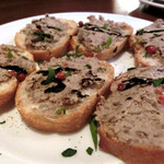 アルベロ - 砂肝とフォアグラのペースト