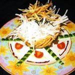 みとりん - ▲カリカリポテトと大根サラダ。カリカリに揚げたポテトとシャキシャキの大根を、みとりん独自のサッパリドレッシングで。