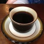 三人灯 - セットのコーヒー