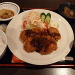 くれおーる - 日替わり定食 トンヘレカツ 780円