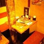 牛角 - カップルに最適な2名様テーブル席