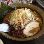 麺工房 炭や - 黒味噌炭麺