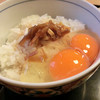 """味処栄清丸 - 料理写真:""""成島出""""セットのたまごかけごはん"""