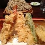 やぶ忠 - 天ぷら、アップ