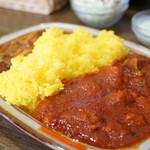 インド料理ヒマラヤ - 大辛ツインカレーライス