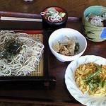 シリウス - 料理写真:そば定食(\1000)