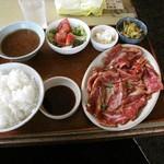 Shiyoutokuen - 焼肉定食カルビ