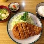 とんかつ 安右衛門 - 梅カツ       1200円