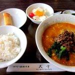 チャイニーズレストラン大幸 - ランチCセット(四川坦々麺)!(2013,05/26)