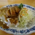 茶の間 - カツカレー(550円)