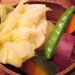 19270892 - 季節の蒸野菜