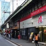食安商店 - 昭和と平成が混在するガード下