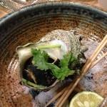 鮨 清水 - 壷焼き