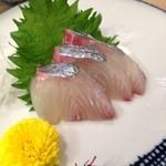 鮨 清水 - シマアジ