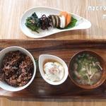 ラルーナ - ランチの菜食セット