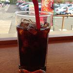 ミスタードーナツ - ドリンク写真:アイスコーヒー。
