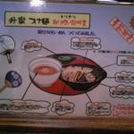 倉敷らーめん 升家 - 期間限定のつけ麺の説明
