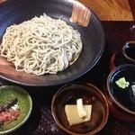 蕎麦 脇本 - 自然薯とろろそば+ミニ飛騨牛ステーキ丼
