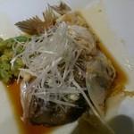 いさりび - 鯛のかぶと煮98円!