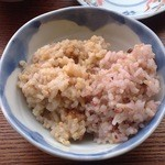 玄米カフェ - 【雑穀ごはん:玄米】