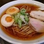 麺匠ぼんてん - 味玉らーめん(細麺)780円