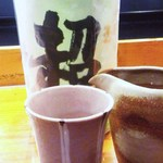 """魚道 - 高山の銘酒""""久寿玉""""がありました!"""