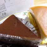 プレヴェール - こだわりチーズ:283円+とろけるショコラ:283円('13.05月にて)