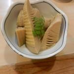 登里市 - 竹の子煮