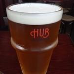 19282700 - 一番デカイビール。