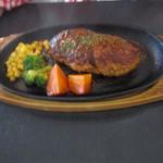 19282995 - お肉のランチ イタリアンハンバーグ