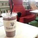 スルークカフェ - ブルーベリー豆乳