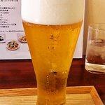 穂の華 - ビールの銘柄不明。アサヒではないと思う。