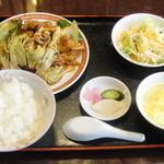 四五六菜館 - 回鍋肉定食