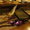 山水館信濃 - 料理写真:炭で焼き魚