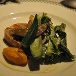 長崎 ペリニィヨン - 野菜のベーコン巻きテリーヌ