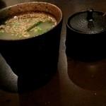 炭火焼鳥家 ちきちき - 鶏スープ